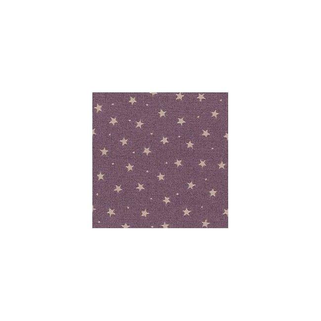 Tissu Etoiles Mauve - 1