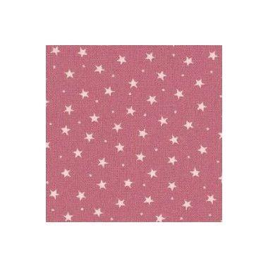 Tissu Etoiles Rose