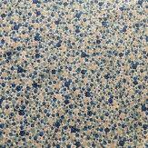Tissu petites fleurs bleu