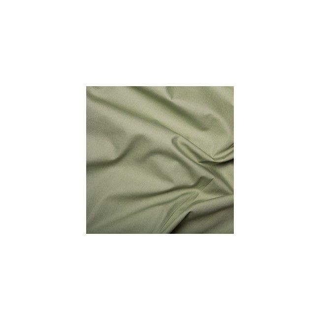 Tissu coton uni vert
