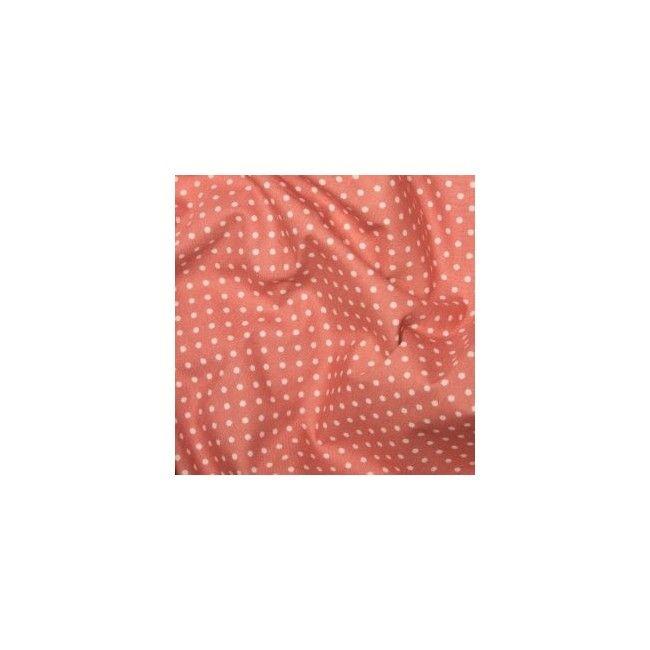 Tissu Pois Rose - 1