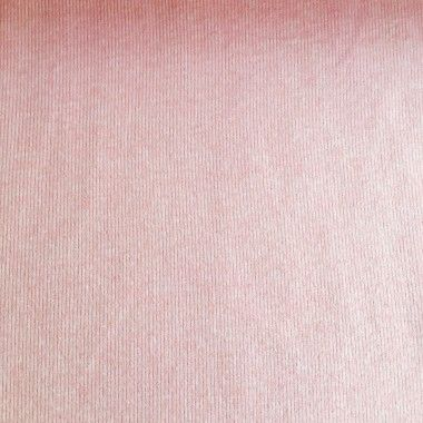Tissu sweat molletonné réversible rayures rose