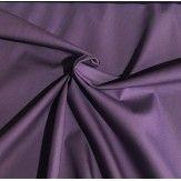 Tissu coton uni mauve