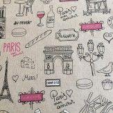 Tissu toile coton Paris
