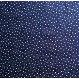 Tissu étoiles bleu marine