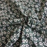Tissu jersey petites fleurs