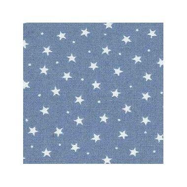 Tissu Etoiles Bleu