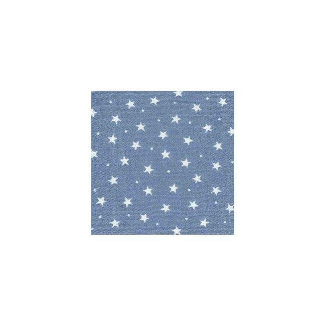 Tissu Etoiles Bleu - 1