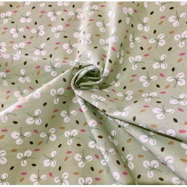 Tissu coton fleuri Candy