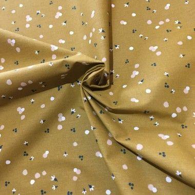 Tissu coton fleurs Nozbi