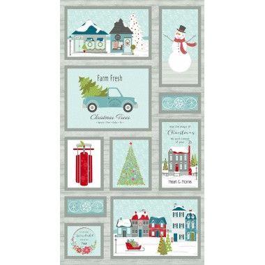 Panneau Christmas Heart & Home - Contempo Studio