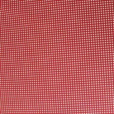 Tissu Vichy Rouge - 1