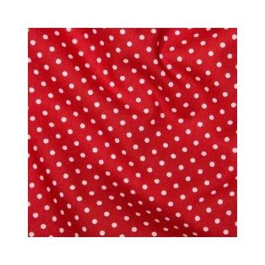 Tissu Spot Red