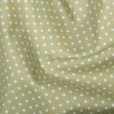 Tissu Pois Vert