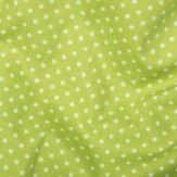 Tissu Pois Vert Anis