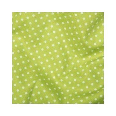Tissu Spots Lime