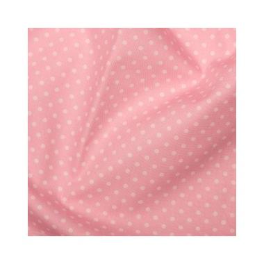 Tissu Spots Pale Pink