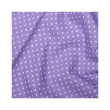 Tissu Spots Lilac