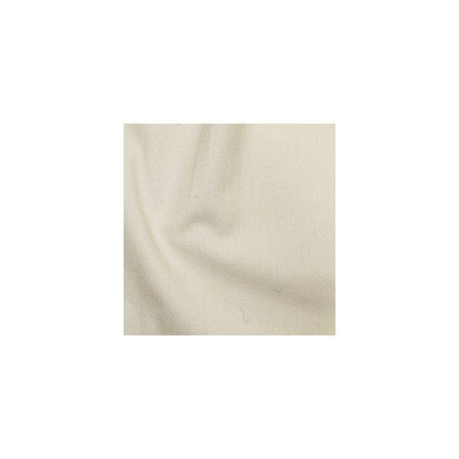 Tissu coton uni ecru