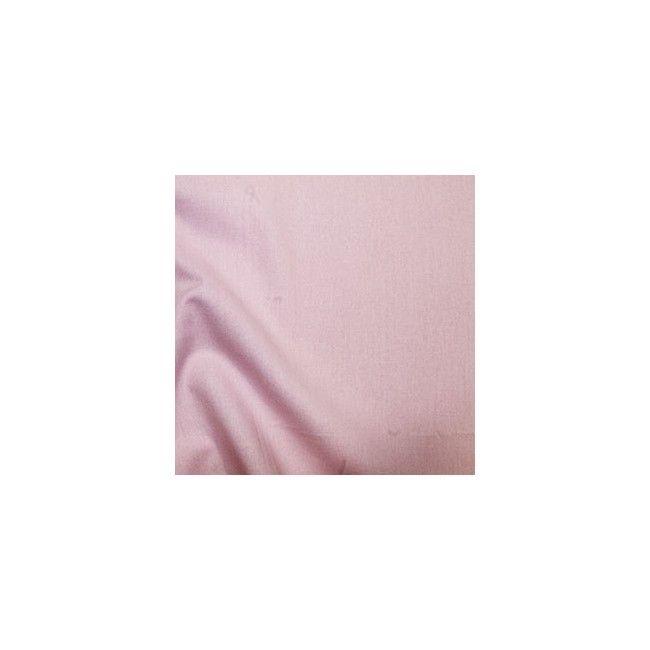 Tissu coton uni rose