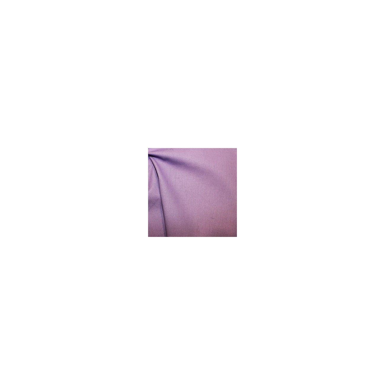 Tissu coton uni parme