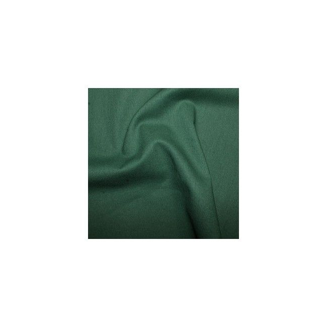Tissu coton uni vert sapin