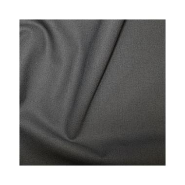 Tissu coton uni gris foncé
